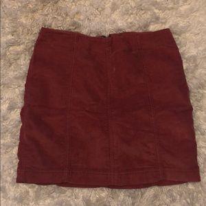 Free People Corduroy Skirt!